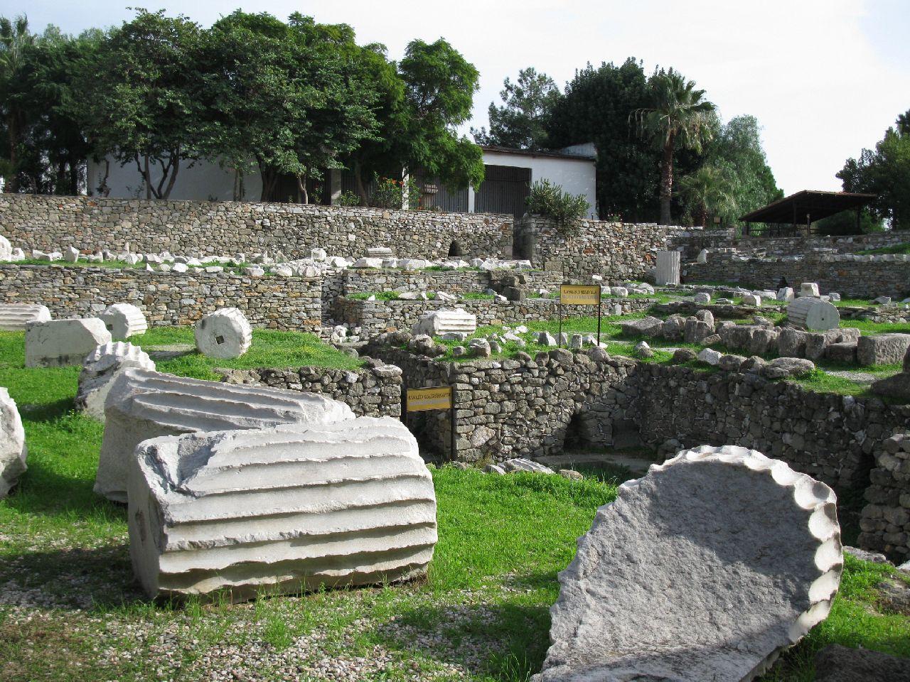 Картинки гробница мавсола в галикарнасе
